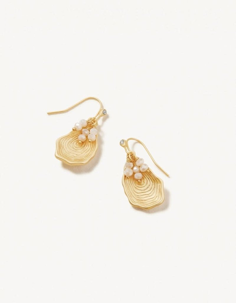 Spartina 449 Oyster Alley Earrings Gold