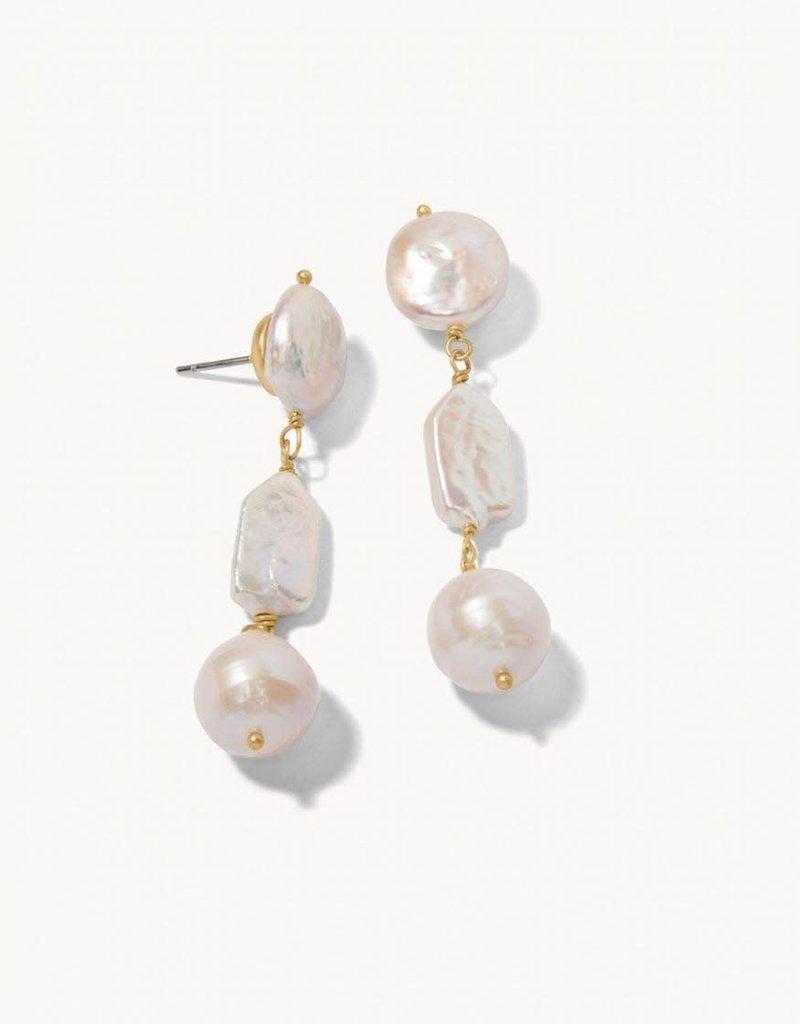 Spartina 449 Pearl Dangle Earrings Pearl