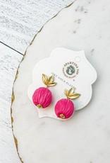 Spartina 449 Pink Lemonade Bauble Earrings Pink