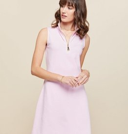Spartina 449 Serena Half-zip Dress Sweet Lilac - Large
