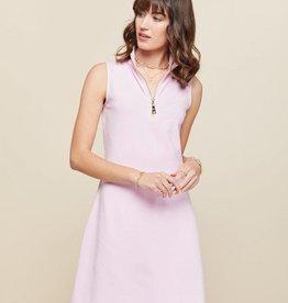 Spartina 449 Serena Half-zip Dress Sweet Lilac - Small