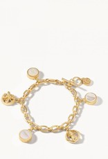 Spartina 449 Sticky Sweet Charm Toggle Bracelet Pearlescent
