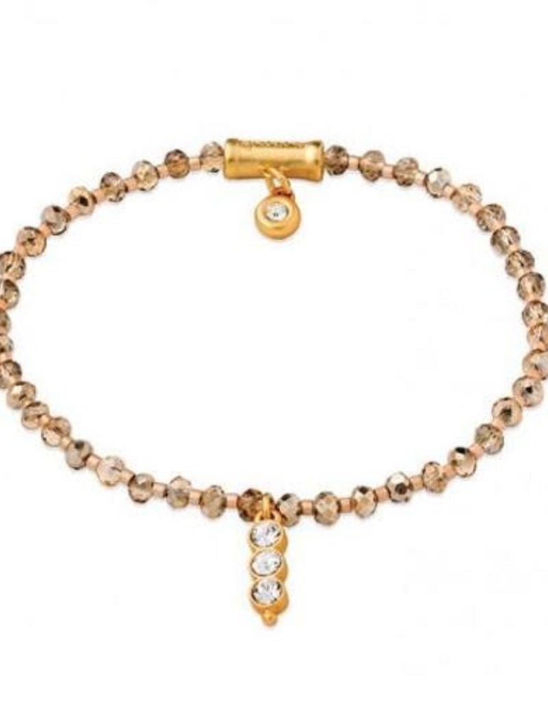 Spartina 449, LLC Twinkle Stretch Bracelet Rose Sparkle Gem