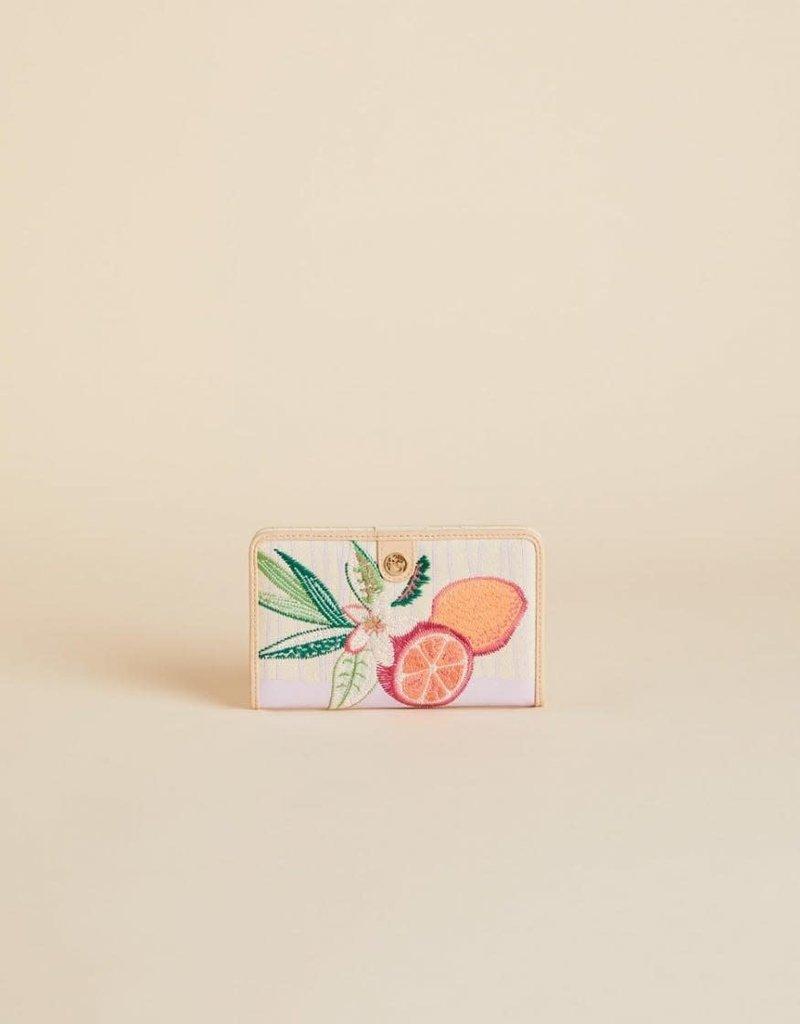 Spartina 449 Snap Wallet Pink Lemonade