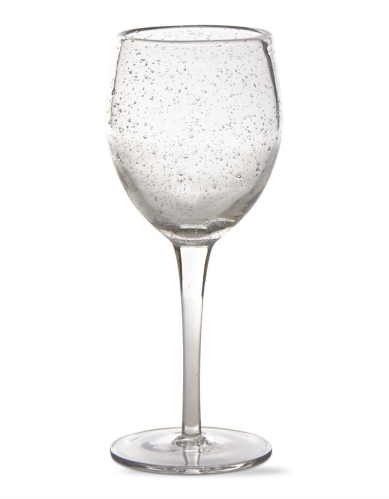 Bubble Glass Tall Wine Glass