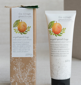 The Cottage Greenhouse Sungold Apricot & Sage Lotion - 8.0 oz