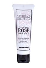 Archipelago Botanicals Charcoal Rose Travel Size Body Wash