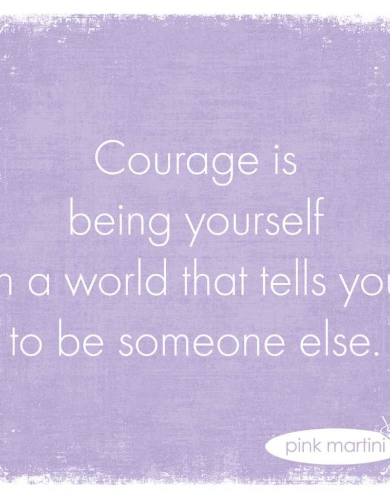 Courage Is Beverage Napkins