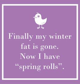 Spring Rolls Beverage Napkins
