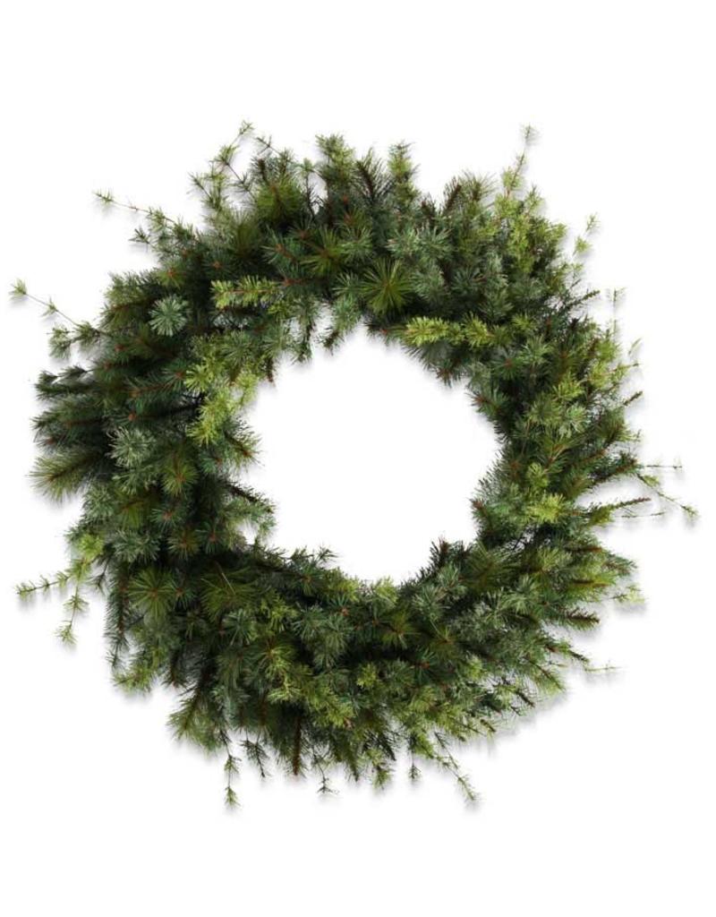 "New Zealand Pine Wreath - 48"""