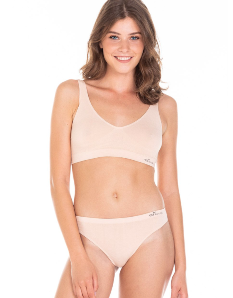 Boody Eco Wear Shaper Bra - Nude - Medium