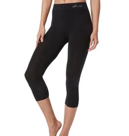 Boody Eco Wear 3/4 Legging - Black - X-Large