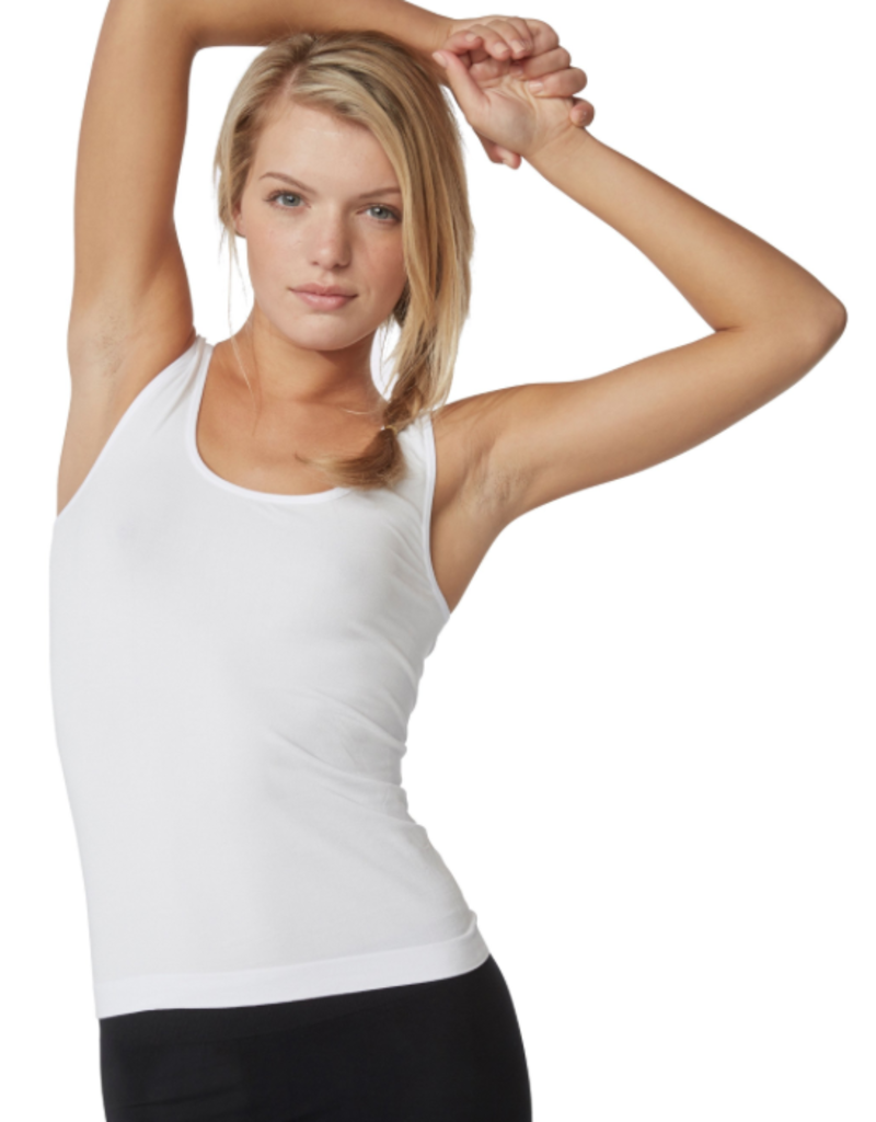 Boody Eco Wear Tank Top - White - Large