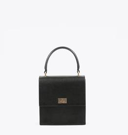 Neely & Chloe Mini Lady Bag Saffiano - Black