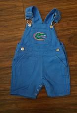 Short Leg Overalls - Gator Blue - 12 Months