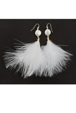 Feather Earrings - Assorted Colors