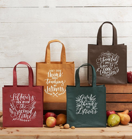 Thankful for Leftovers Tote Bags - Set of 4