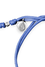 Dune Jewelry Touch the World Periwinkle Cord Bracelet - St. Augustine