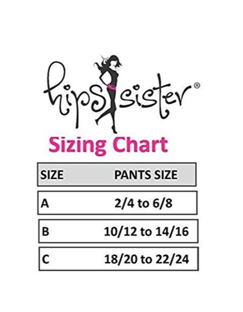 Hips Sister Left Coast Hips Sister Reversible Belt - Pink/Black - Size A