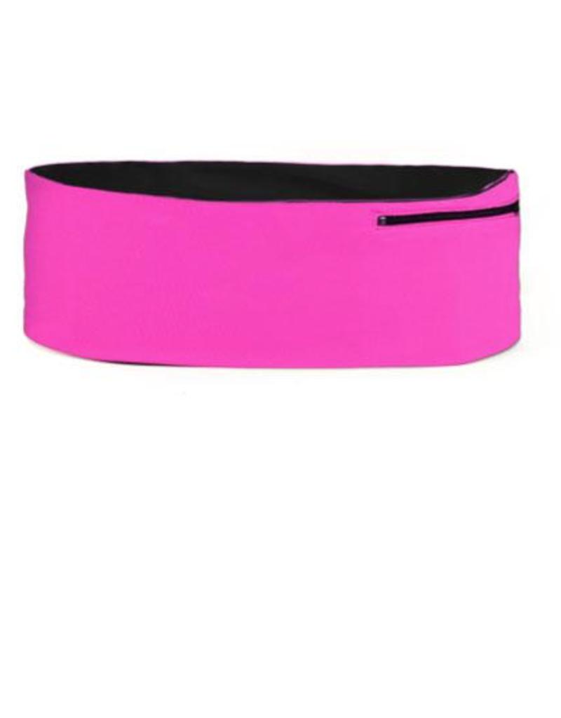 Hips Sister Left Coast Hips Sister Reversible Belt - Pink/Black - Size C