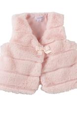 Infant Pink Fur Vest - 9-12 Months