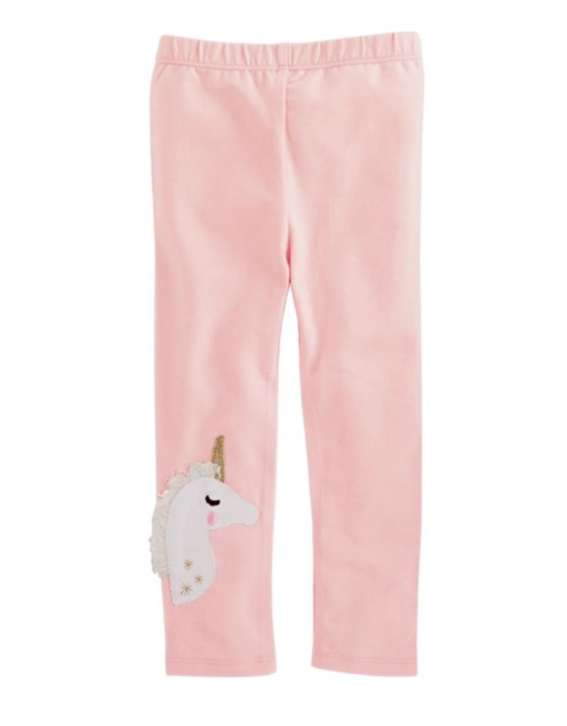 Pink Unicorn Leggings - Small