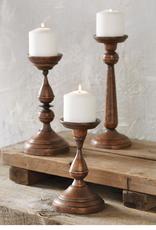 "Copper Candlesticks - 11.5"""