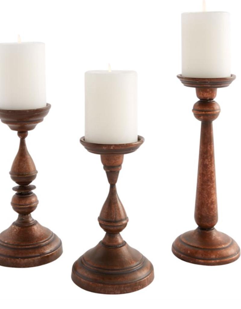 "Copper Candlesticks - 7"""