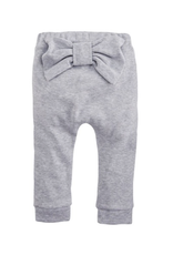 Gray Infant Bow Pants - 9-12 Months
