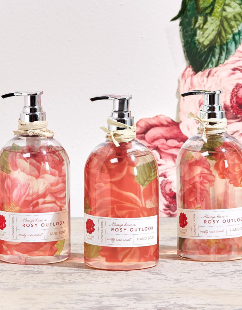 Wild Rose Scented Hand Soap