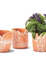 Garden Critters Planter/Cachepot - Assorted Designs