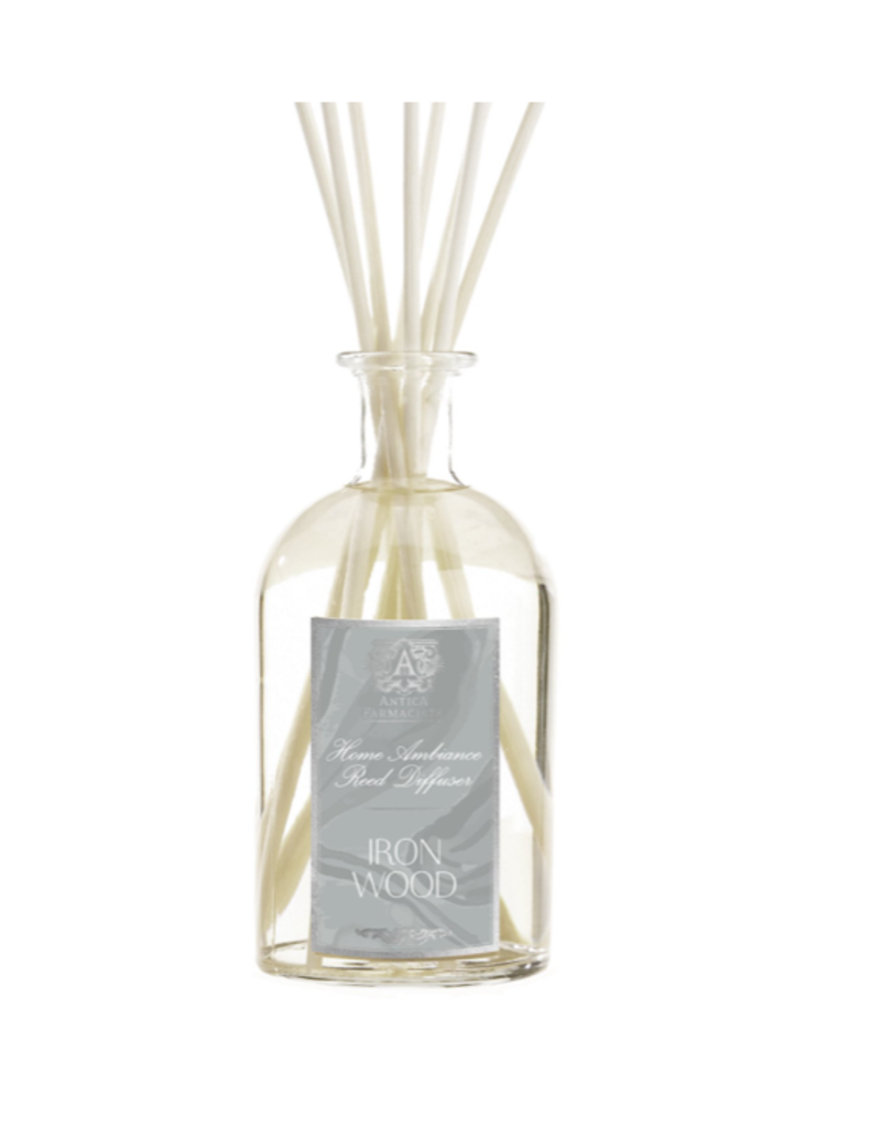 Antica Farmacista Ironwood Home Ambiance Diffuser w/reeds - 250ml