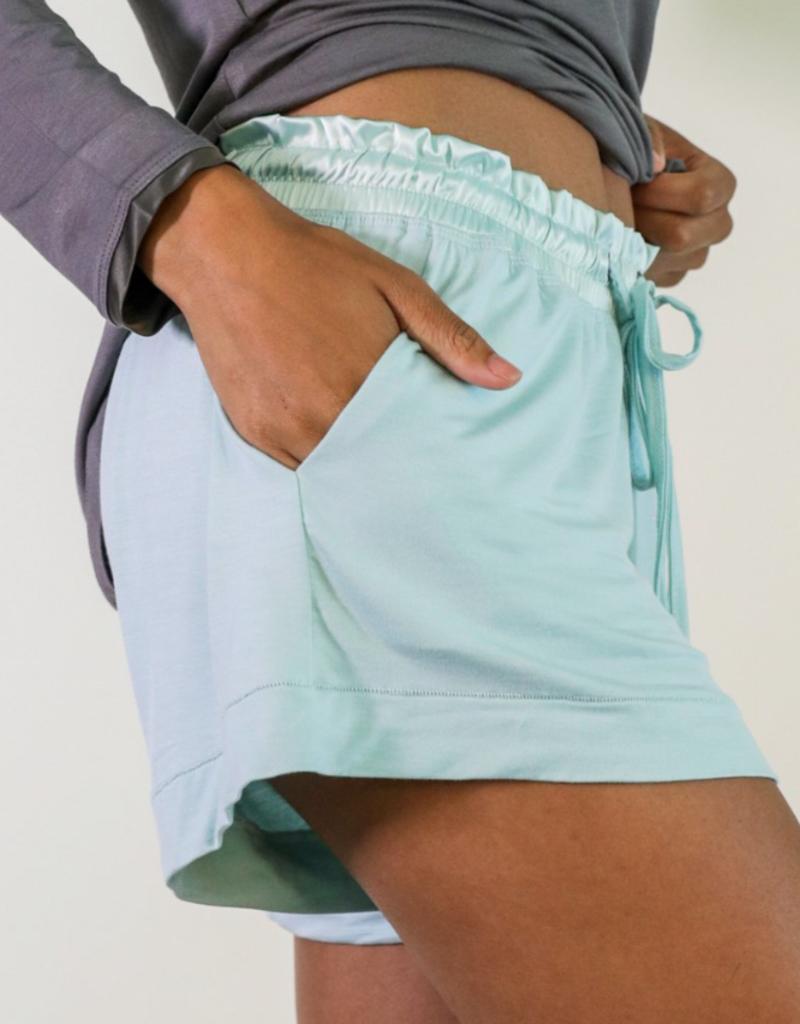 Aqua Bamboo Short Shorts - Large
