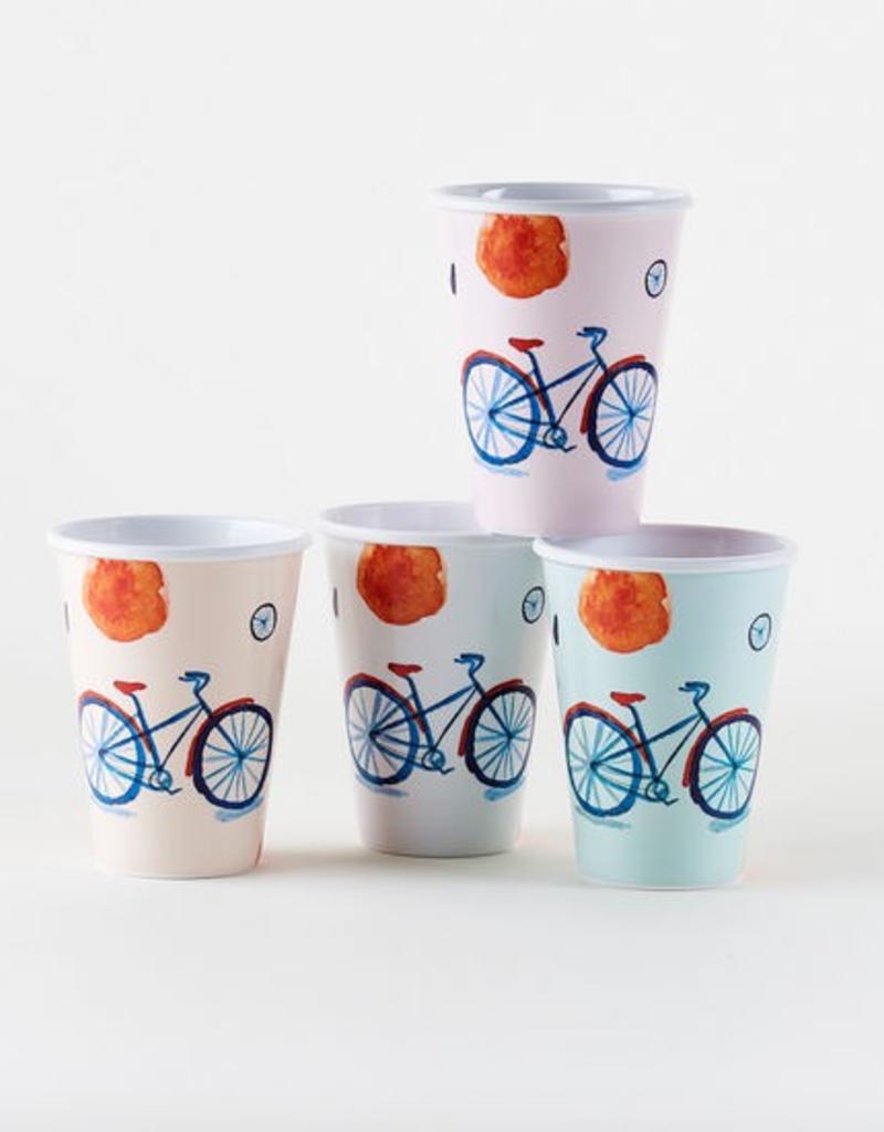 Bicycle Melamine Cup - Single - 12oz