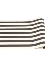 "Black Classic Stripe Runner - 20"" x 25'"