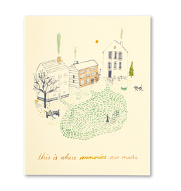 This is Where Memories are Made New Home Card