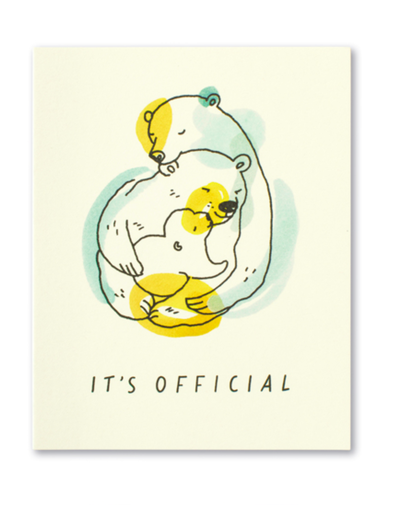 It's official. New Baby Card