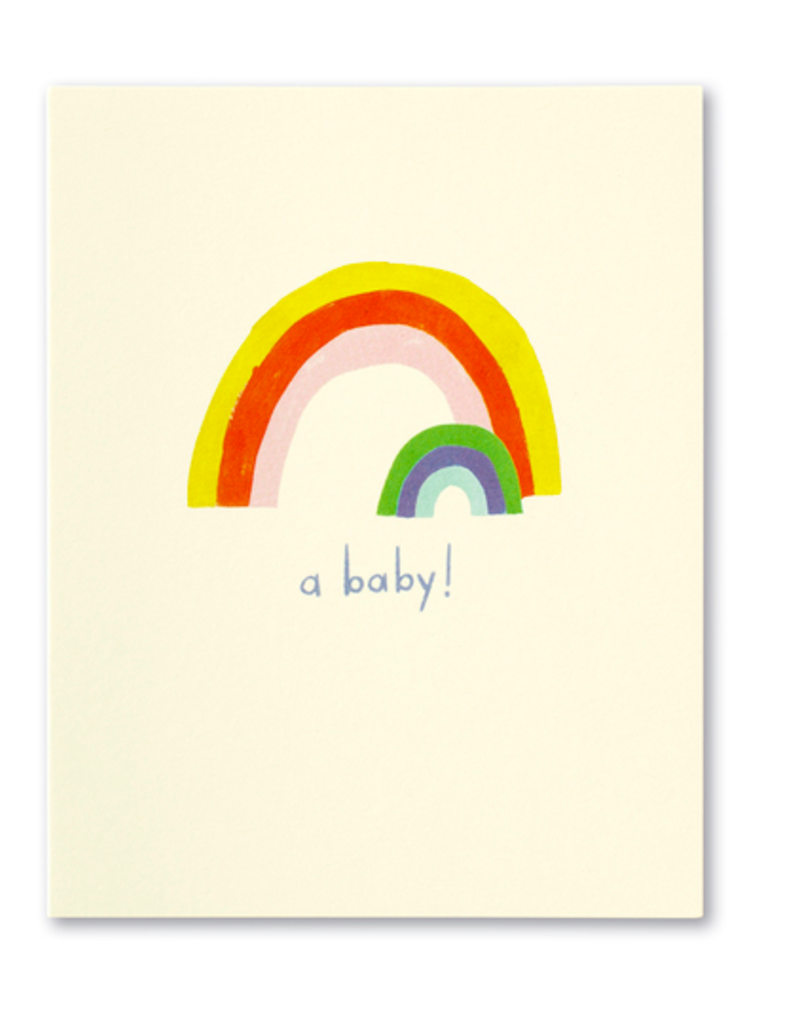 A Baby! New Baby Card