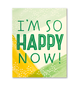 I'm So Happy Now! Thank You Card