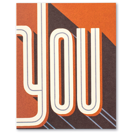 You...Thank You Card