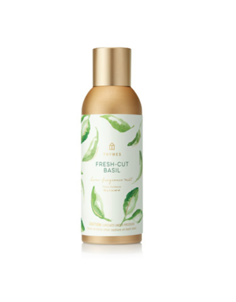 Thymes Fresh-Cut Basil Home Fragrance Mist