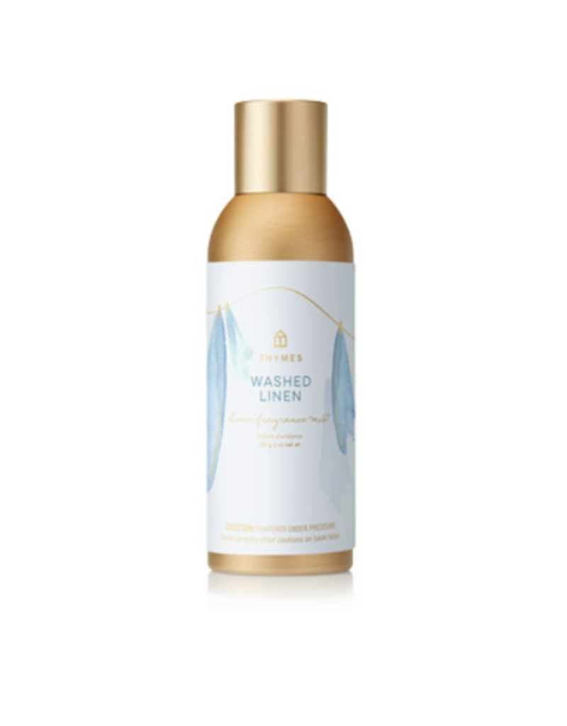 Thymes Washed Linen Home Fragrance Mist