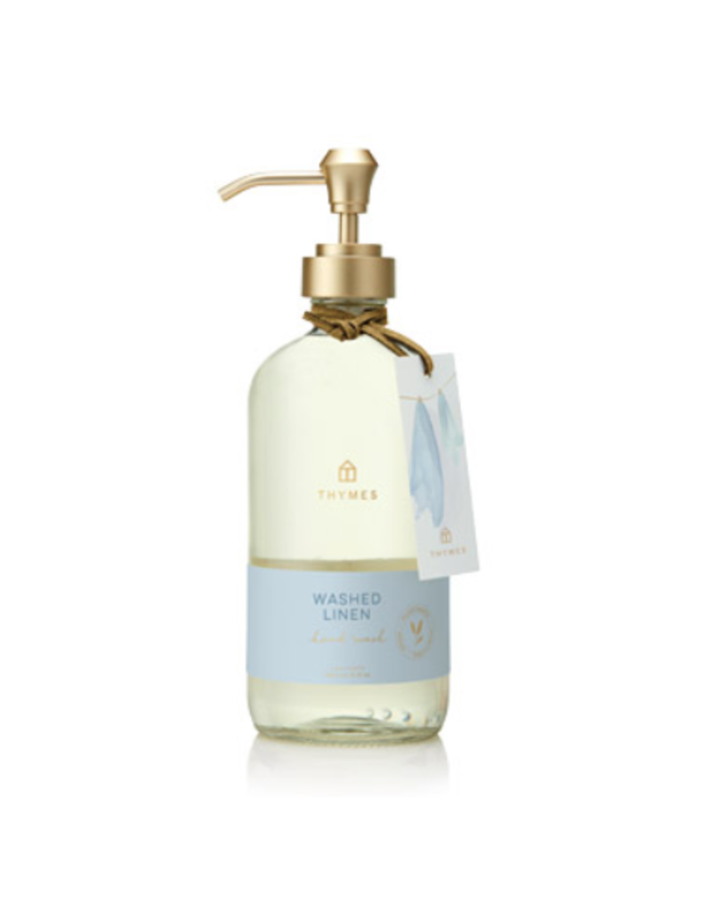 Thymes Washed Linen Large Hand Wash