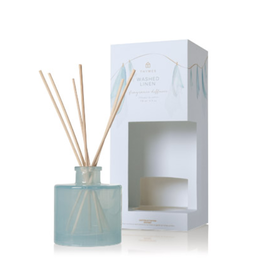 Thymes Washed Linen Petite Reed Diffuser