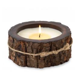 Himalayan Trading Post Tree Bark Candle Campfire - Small
