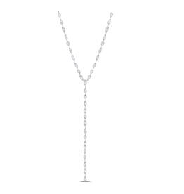 Crislu Lavish Y-Shaped CZ Necklace