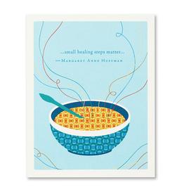 Small Healing Steps Matter Get Well Card