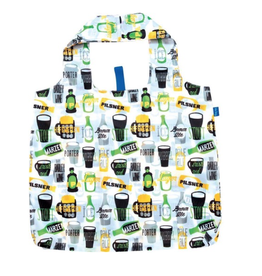Blu Bag Reusable Shopping Bag - Beer Green