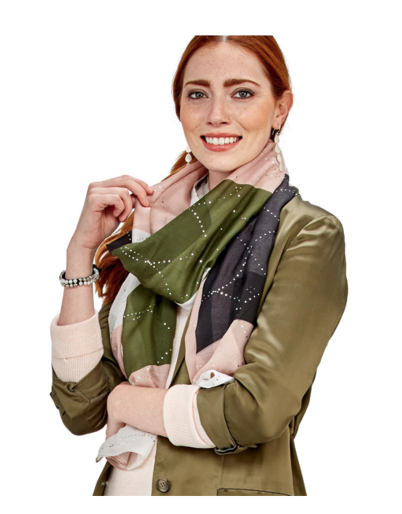 Colorblock Scarf - Assorted Colors