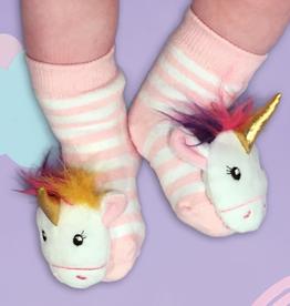 Unicorn Baby Rattle Socks - Assorted Colors